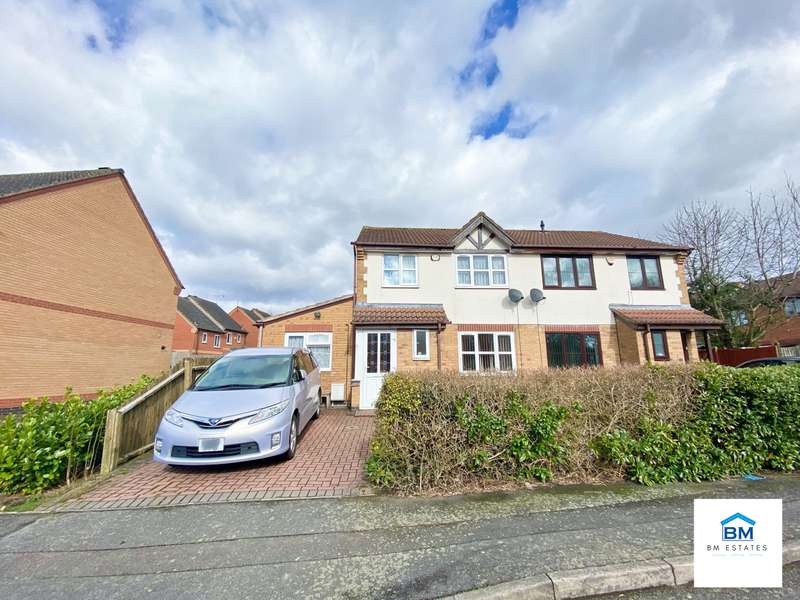 4 Bedrooms Semi Detached House for sale in Woodborough Road, Leicester, LE5