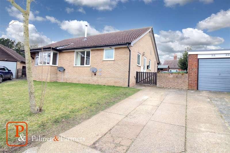 2 Bedrooms Semi Detached Bungalow for sale in Millfields, SAXMUNDHAM