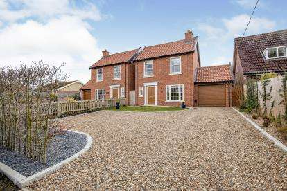 4 Bedrooms Detached House for sale in Dickleburgh, Diss, Norfolk