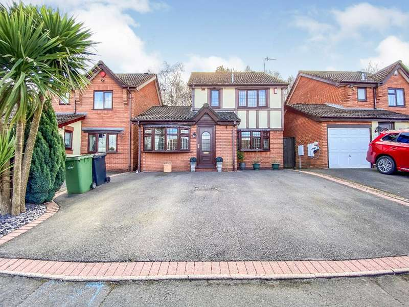 3 Bedrooms Detached House for sale in Moyle Drive, Halesowen