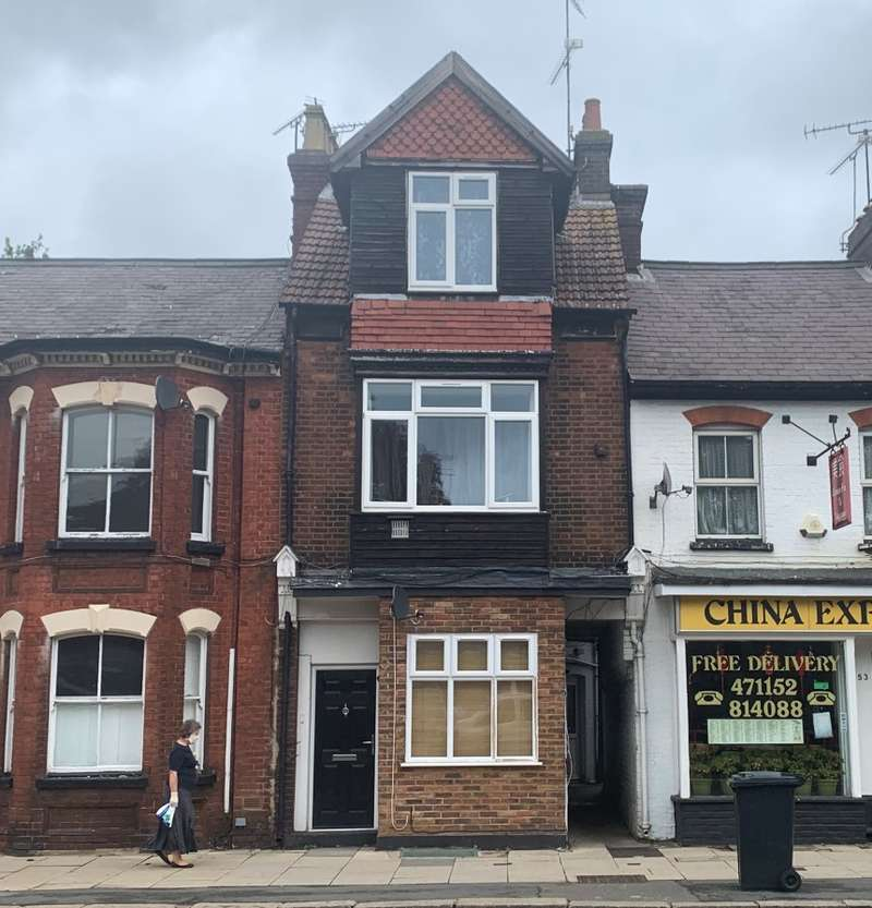 1 Bedroom Flat for sale in High Street South, Luton, Dunstable, Bedfordshire, LU6 3SF