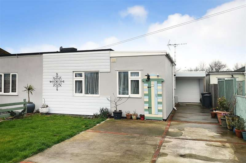 2 Bedrooms Semi Detached Bungalow for sale in Marine Avenue, Beachlands, Pevensey Bay