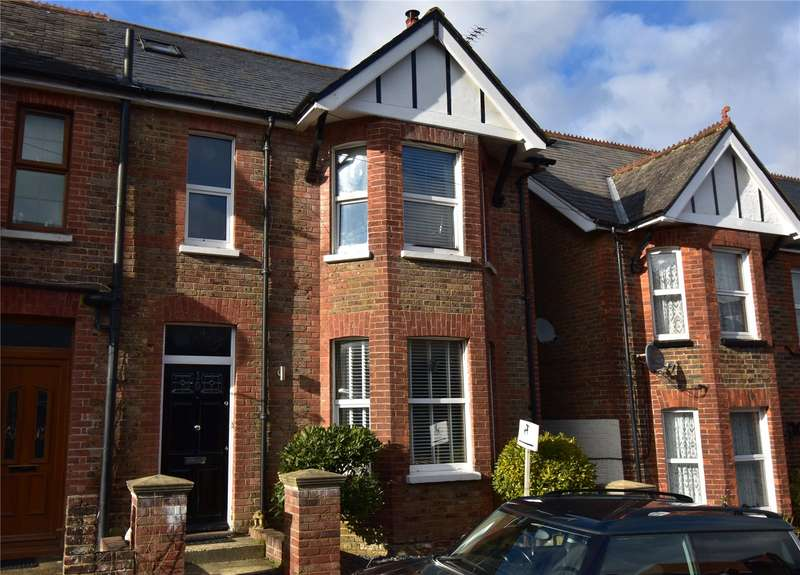 3 Bedrooms Semi Detached House for sale in Croham Road, Crowborough, East Sussex, TN6