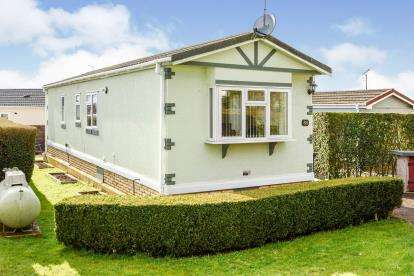 2 Bedrooms Mobile Home for sale in Peppercorn Park, The Baulk, Clapham, Bedford