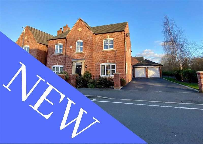 4 Bedrooms Detached House for sale in Maesgwyn Road, Wrexham