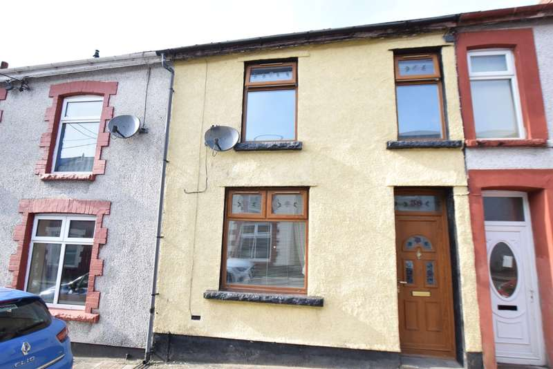 2 Bedrooms Terraced House for sale in Church Street, Aberbargoed, Bargoed