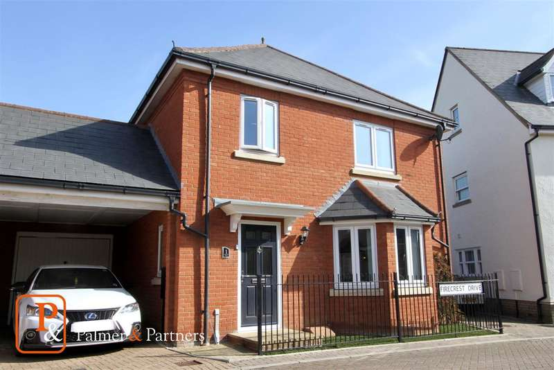 3 Bedrooms Link Detached House for sale in Firecrest Drive, Stowmarket