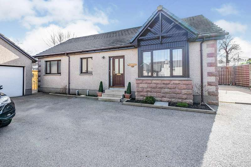 3 Bedrooms Detached Bungalow for sale in Cuthil Avenue, Keith, Moray, AB55