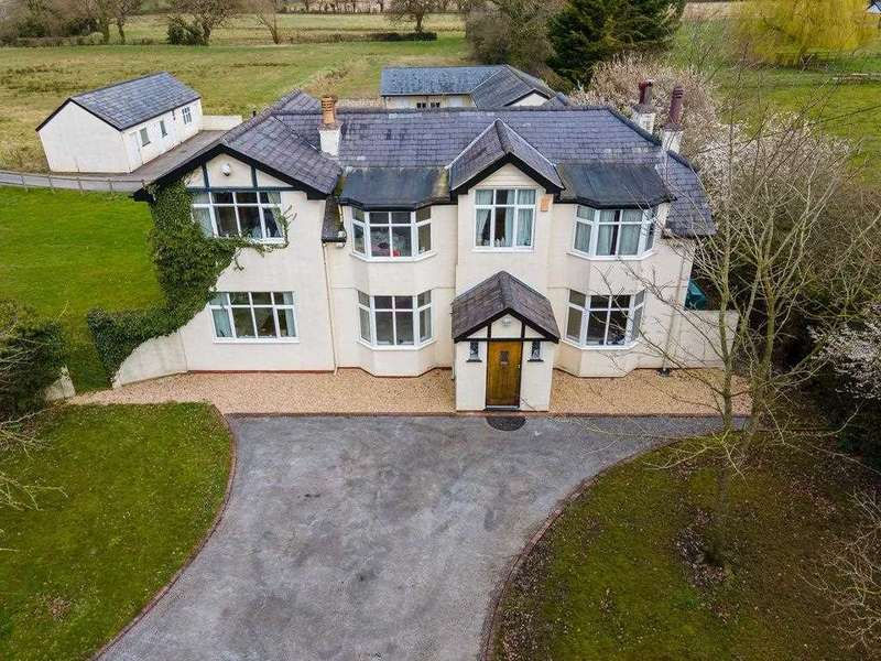 5 Bedrooms Detached House for sale in Daleside, Woodbank Lane, Chester