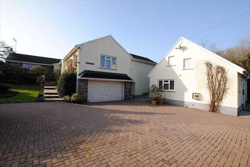 4 Bedrooms Detached Bungalow for sale in Wood Park Sageston, Tenby
