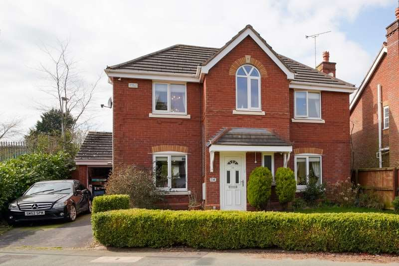 4 Bedrooms Detached House for sale in Bridgewater Grange, Runcorn, Cheshire, WA7