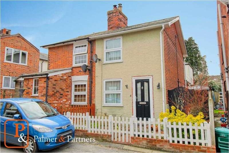 2 Bedrooms Semi Detached House for sale in West Street, Rowhedge, Colchester, CO5