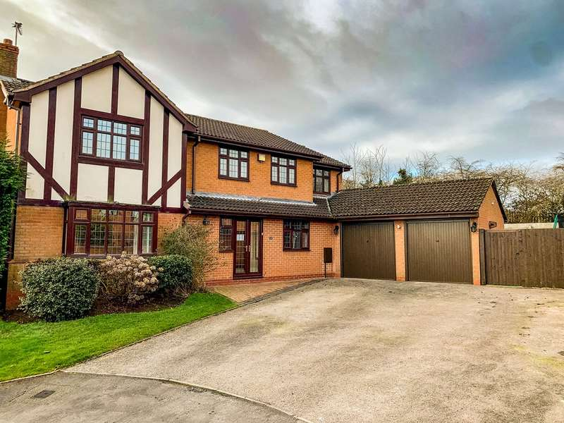 5 Bedrooms Detached House for sale in The Brambles, Lichfield, WS14
