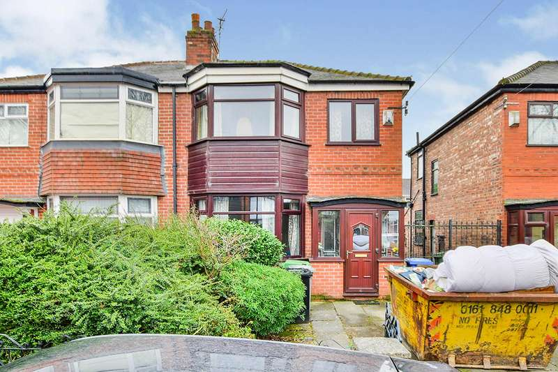3 Bedrooms Semi Detached House for sale in Raglan Road, Stretford, Manchester, Greater Manchester, M32