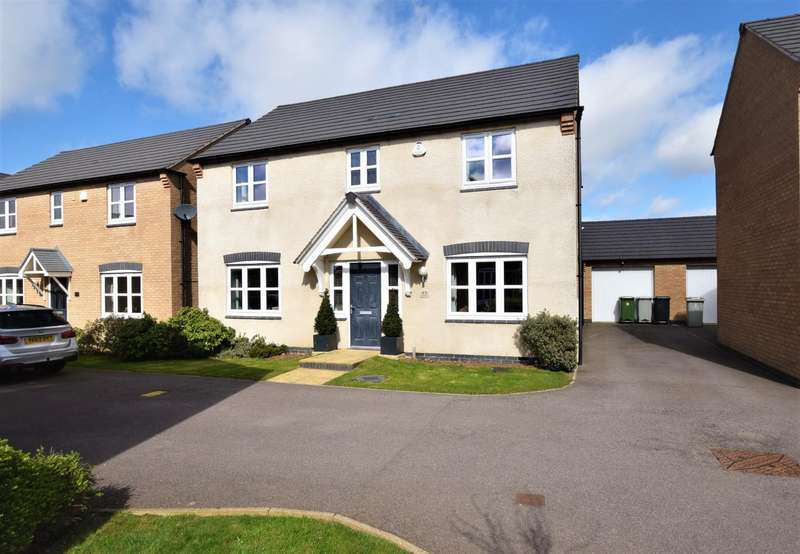 4 Bedrooms Detached House for sale in Aintree Avenue, Barleythorpe, Oakham