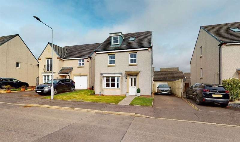 4 Bedrooms Detached Villa House for sale in Stewart Crescent, Dunfermline