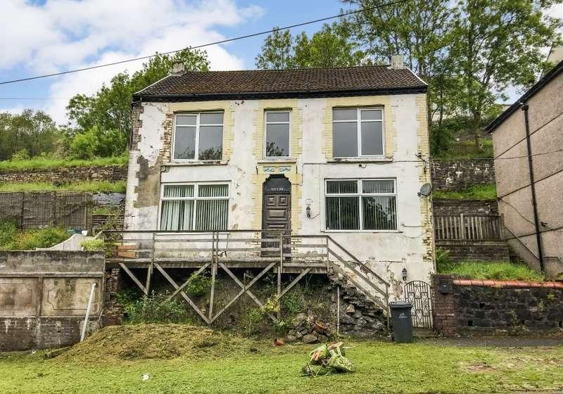4 Bedrooms Detached House for sale in Plas Y Coed, Victoria Road, Ebbw Vale, Gwent, NP23 6UN