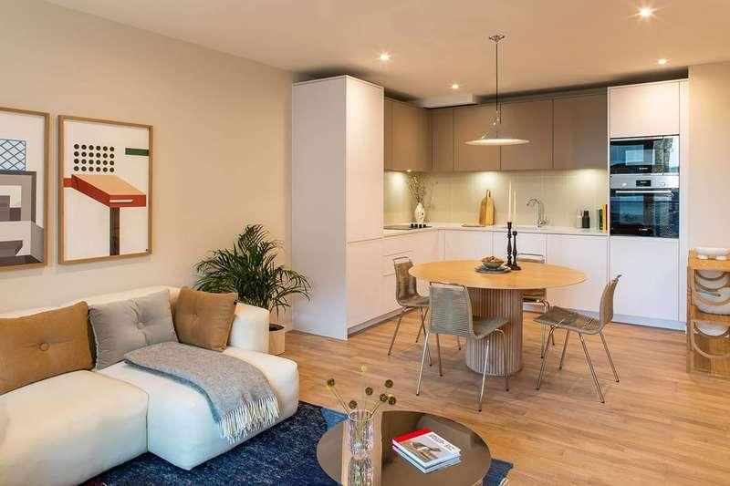 3 Bedrooms Flat for sale in Deptford Landings, Deptford, SE8