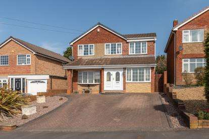 4 Bedrooms Detached House for sale in Thornhill Road, Hednesford, Cannock, Staffordshire