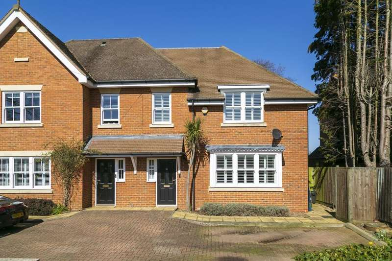 4 Bedrooms Semi Detached House for sale in Acacia Road, Hampton, TW12
