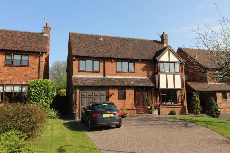 5 Bedrooms Detached House for sale in The Brambles, Newcastle, ST5