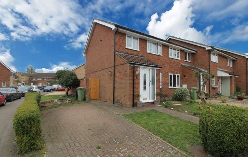 3 Bedrooms End Of Terrace House for sale in Petersham Close, Newport Pagnell