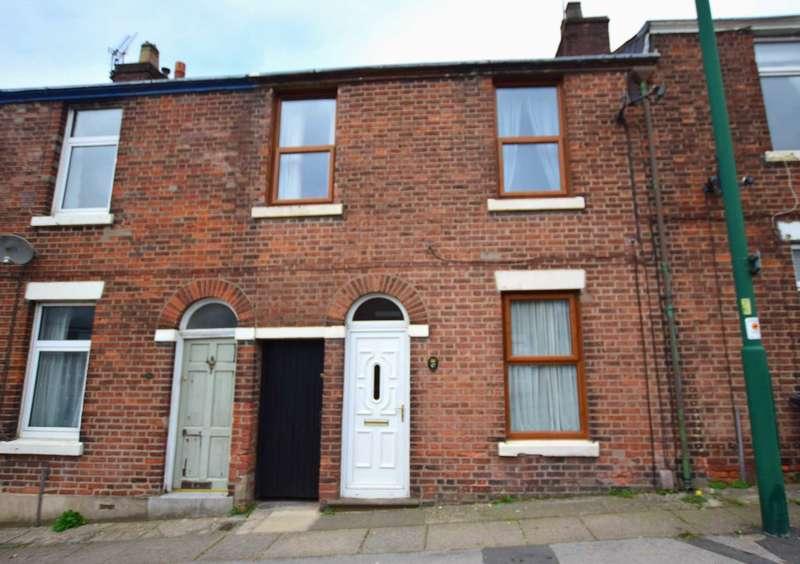 3 Bedrooms Terraced House for sale in Preston Street, Kirkham, Preston, PR4 2YA