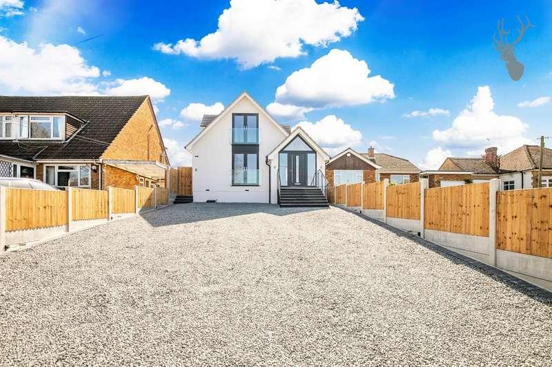 4 Bedrooms Detached House for sale in Bournebridge Lane, Stapleford Abbotts, Romford