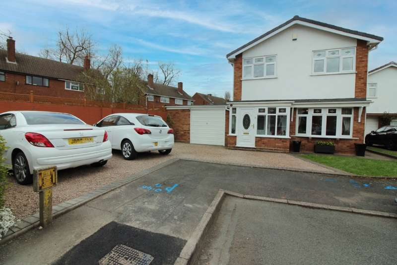 4 Bedrooms Detached House for sale in Bradgate Close, Willenhall