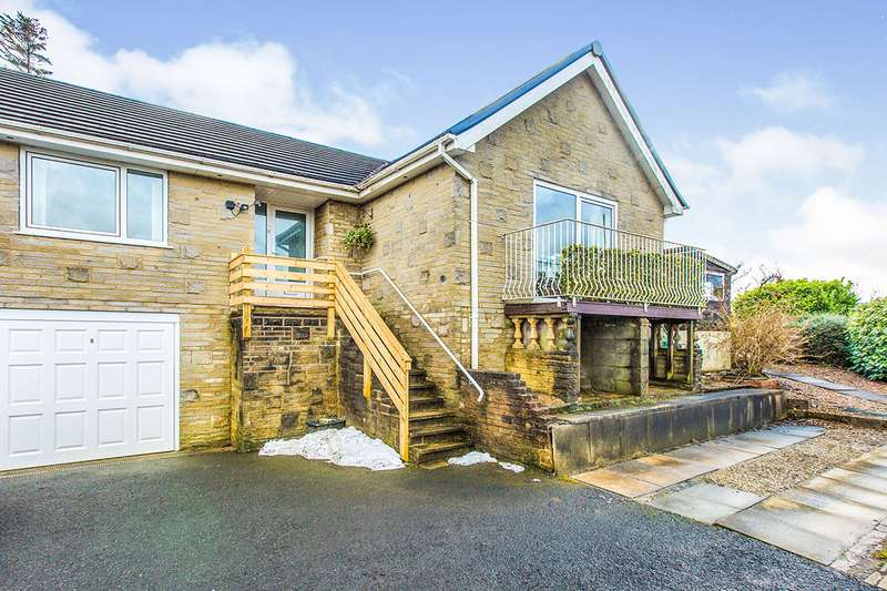 3 Bedrooms Semi Detached Bungalow for sale in California Drive, Todmorden, West Yorkshire, OL14