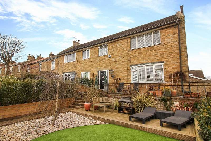 4 Bedrooms End Of Terrace House for sale in Front Street, Earsdon