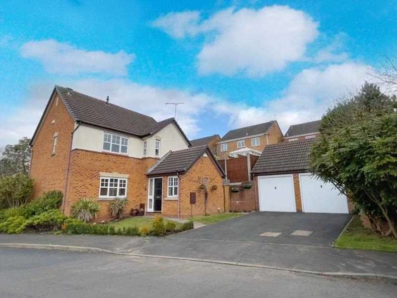 4 Bedrooms Detached House for sale in Brisbane Way, Cannock