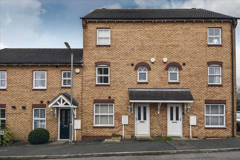 4 Bedrooms Terraced House for sale in Wilce Avenue, Wellingborough, NN8 2QL