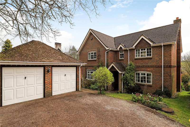 4 Bedrooms Detached House for sale in Winchester Road, Crampmoor, Romsey, Hampshire, SO51