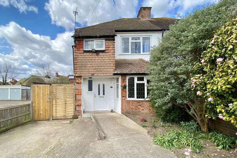 3 Bedrooms Semi Detached House for sale in Molesey Close, Hersham