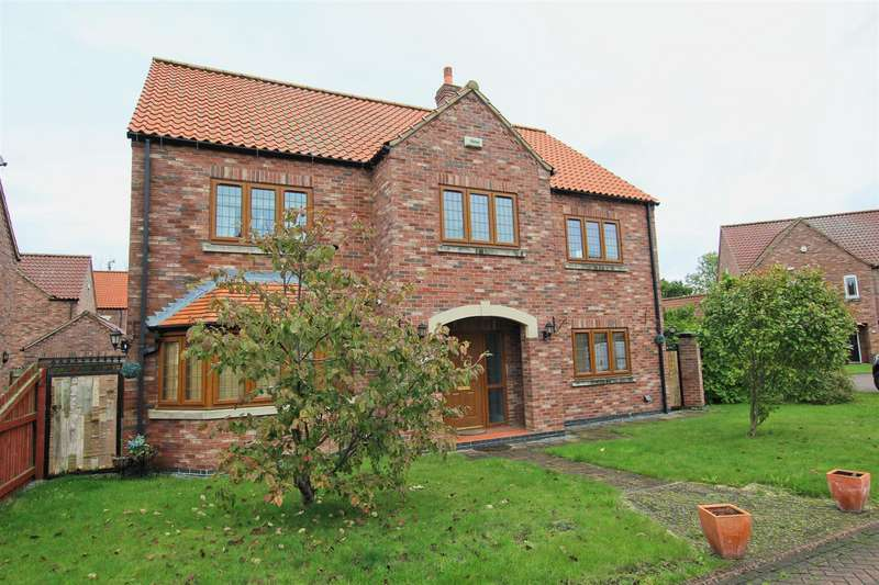 5 Bedrooms Detached House for sale in Rosewoods, Howden, Goole