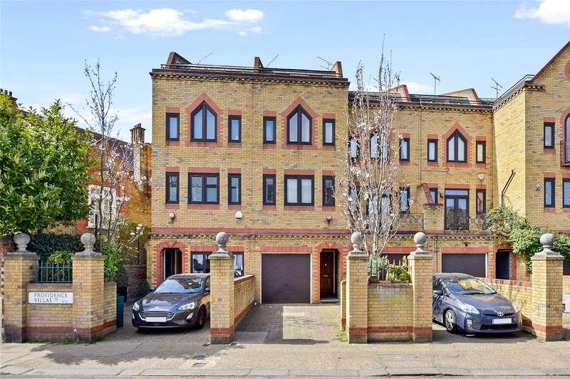 5 Bedrooms Terraced House for sale in Providence Villas, Brackenbury Road, Brackenbury Village, London, W6