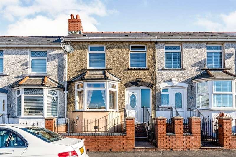 3 Bedrooms Terraced House for sale in Garden City, Rhymney, Tredegar