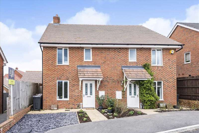 3 Bedrooms Semi Detached House for sale in Strapp Road, Picket Piece, Andover