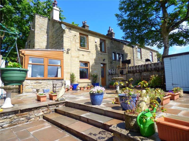 3 Bedrooms Semi Detached House for sale in Bull Hall, Todmorden Road, Bacup, Lancashire, OL13