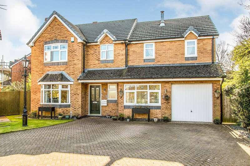 4 Bedrooms Detached House for sale in Teil Green, Fulwood, Preston, Lancashire, PR2