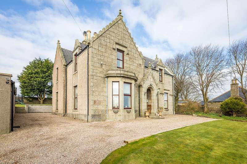 5 Bedrooms Detached House for sale in High Street, New Pitsligo, Fraserburgh, Aberdeenshire, AB43 6NH