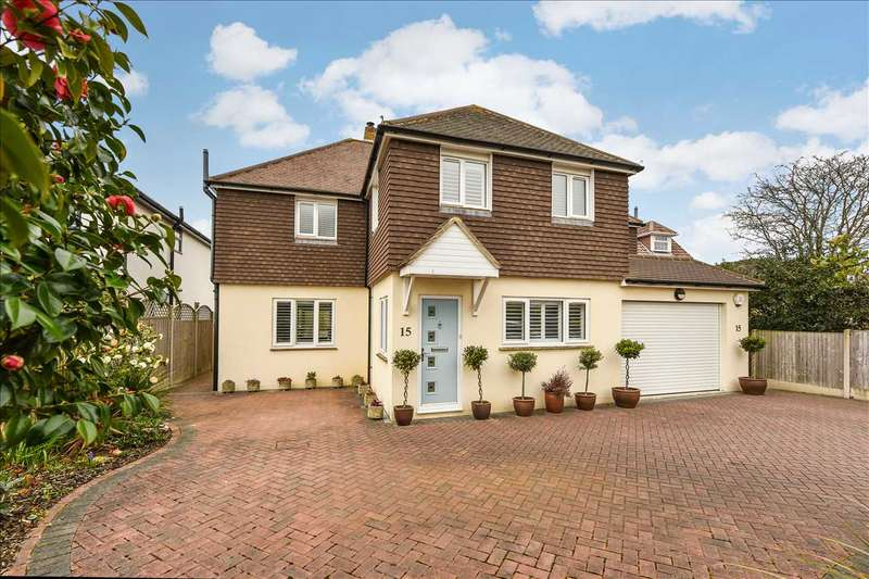 4 Bedrooms Detached House for sale in Knights Bank Road, Hill Head