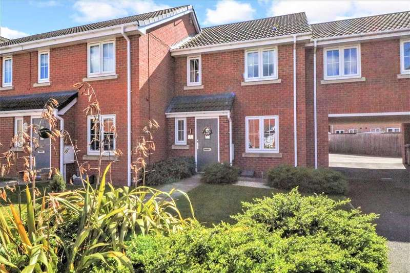 3 Bedrooms Terraced House for sale in Brutus Court, North Hykeham, Lincoln