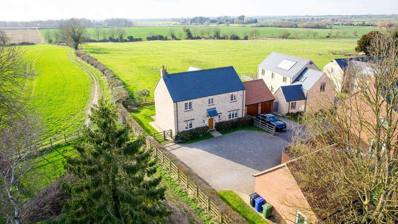 4 Bedrooms Detached House for sale in Church End, Piddington
