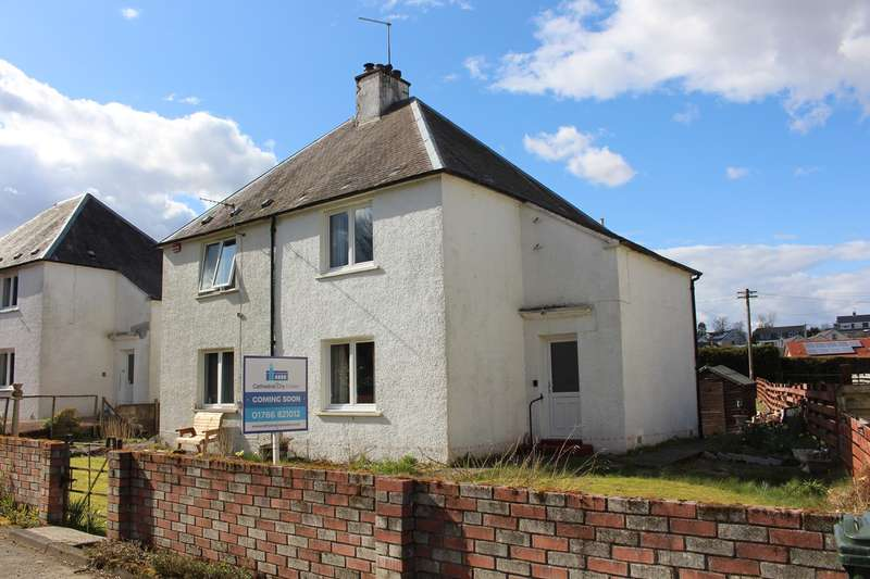 2 Bedrooms Semi Detached House for sale in Manse Road, Braco, Dunblane, FK15