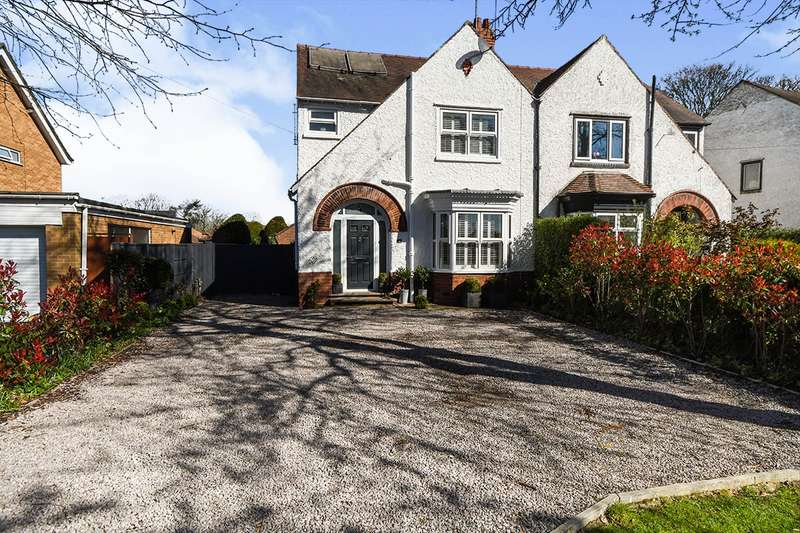 4 Bedrooms Semi Detached House for sale in Doddington Road, Lincoln, Lincolnshire, LN6