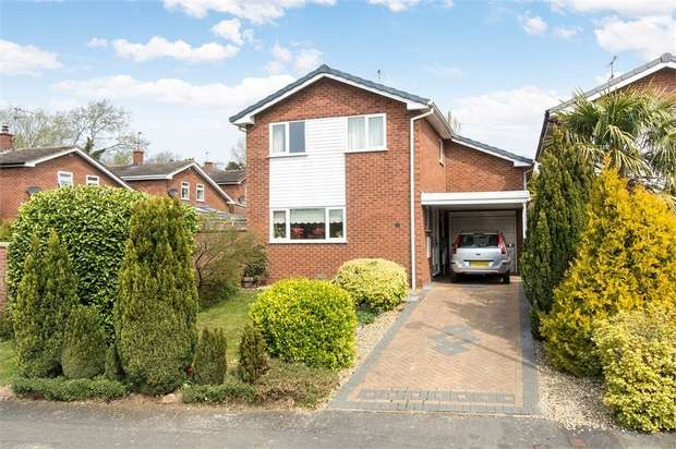 3 Bedrooms Detached House for sale in Pochin Drive, Market Harborough, Leicestershire