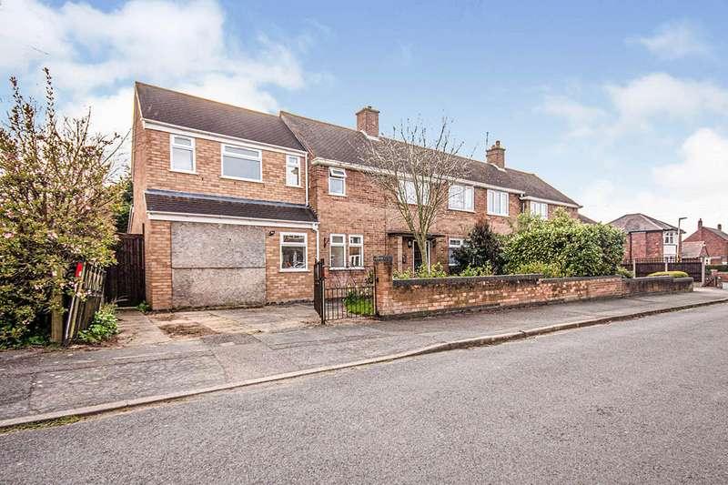4 Bedrooms Semi Detached House for sale in Elizabeth Road, Hinckley, Leicestershire, LE10