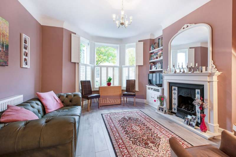 2 Bedrooms Flat for sale in ILMINSTER GARDENS, SW11